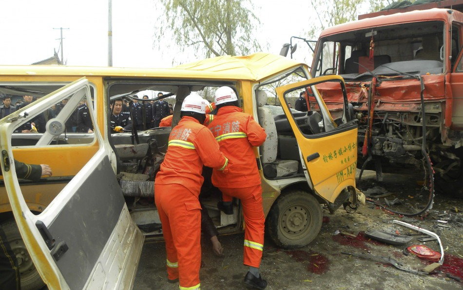 China School Bus Crash