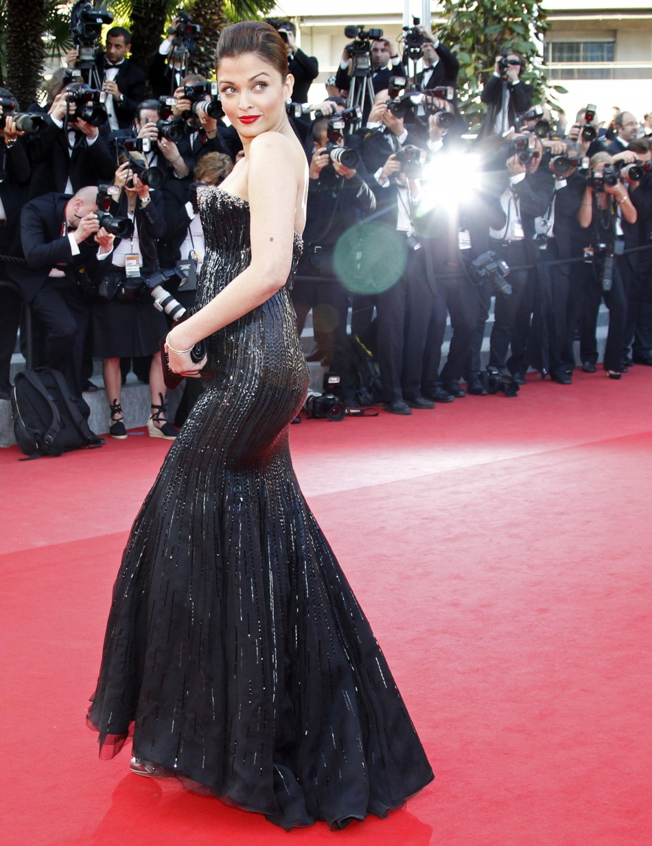 Aishwarya Rai at the 63rd Cannes Film Festival