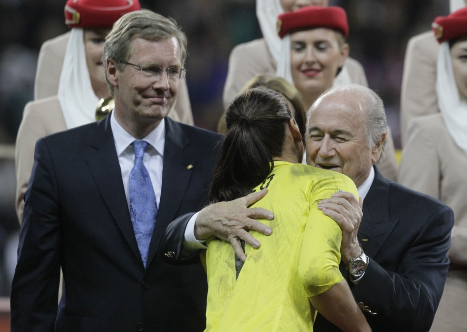 FIFA President Blatter