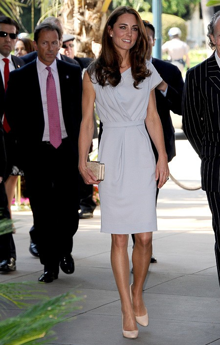 Kate Middleton in British designer Roksanda Ilncic