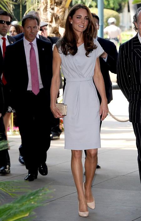 Kate Middleton in British designer Roksanda Ilncic