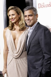 Stacy Keibler- George Clooney