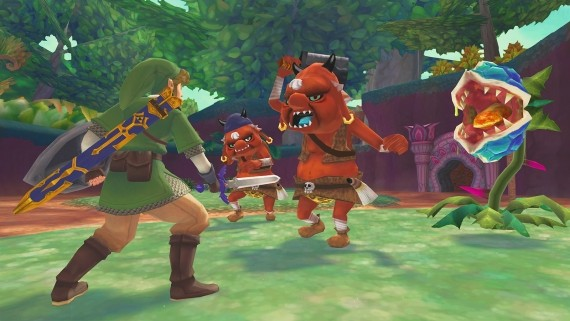 The Legend of Zelda: The Skyward Sword