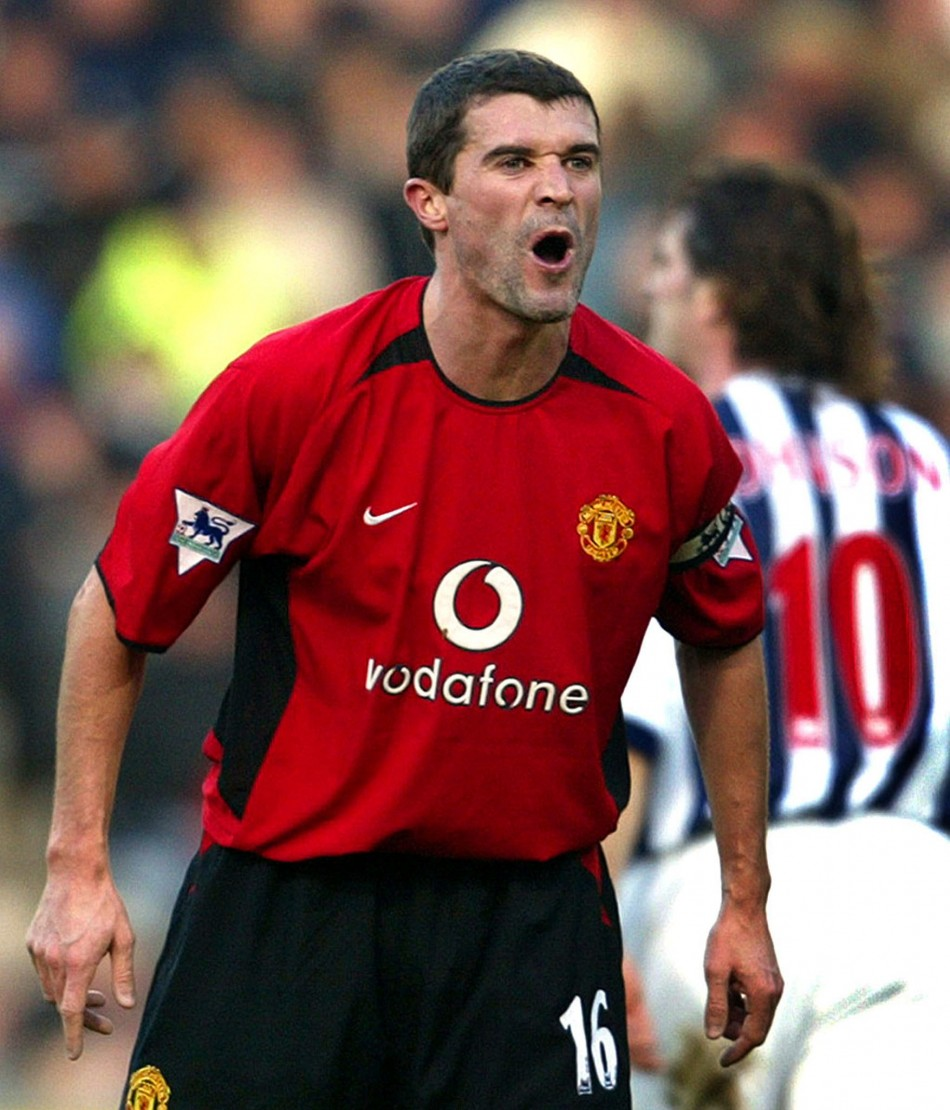Roy Keane was the on field embodiment of his manager Sir Alex Ferguson