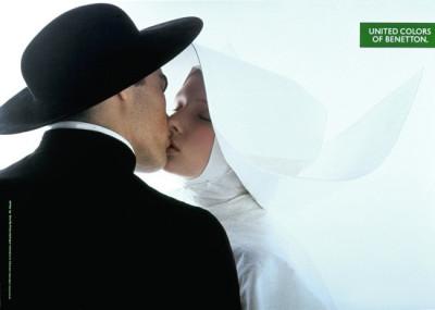 Priest kisses nun