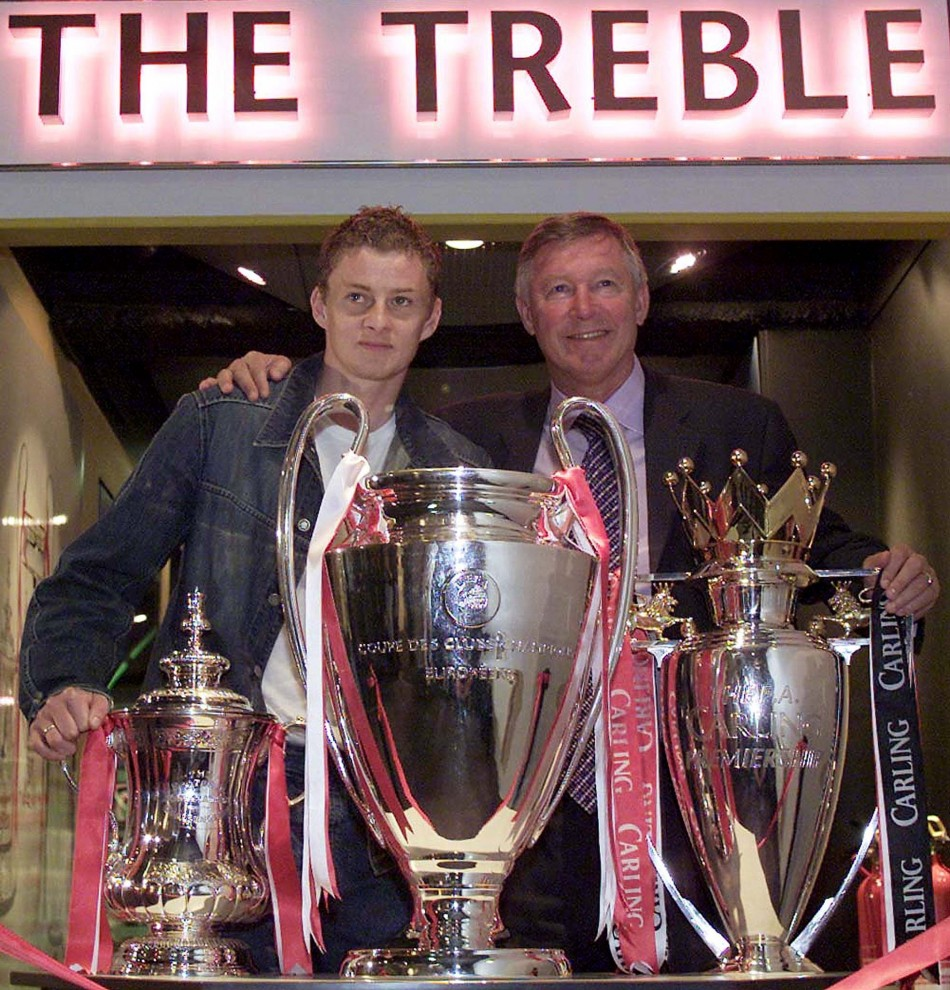 Ole Gunnar Solskjaer has dismissed suggestions he could be the man to replace Sir Alex Ferguson