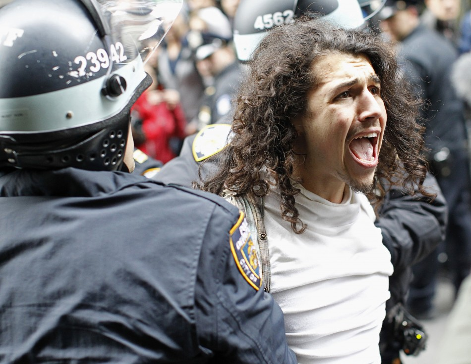 NYPD evict protesters