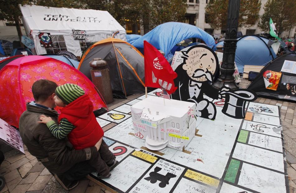 A Occupy London camp