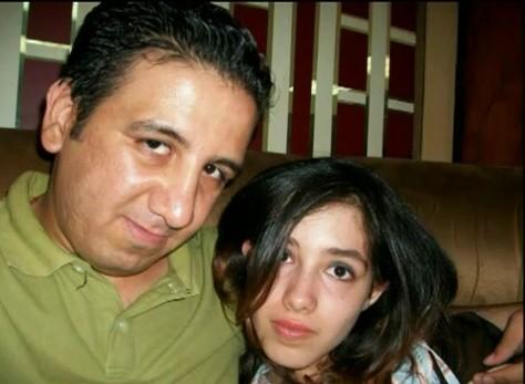 Aliaa Magda Elmahdy with Boyfriend Kareem Amer