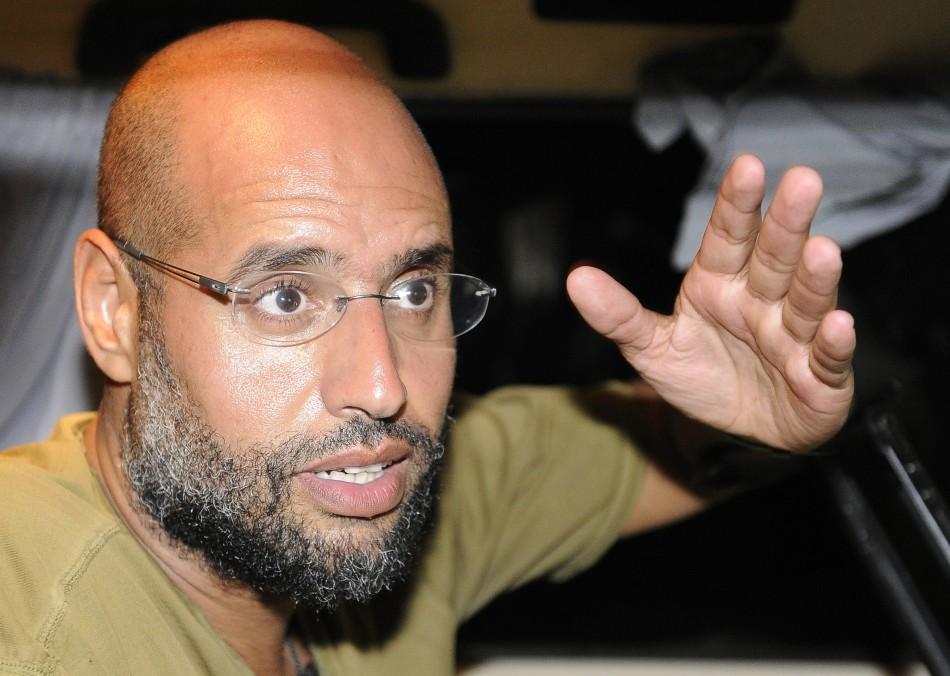 Gadhafi's son Saif al-Islam