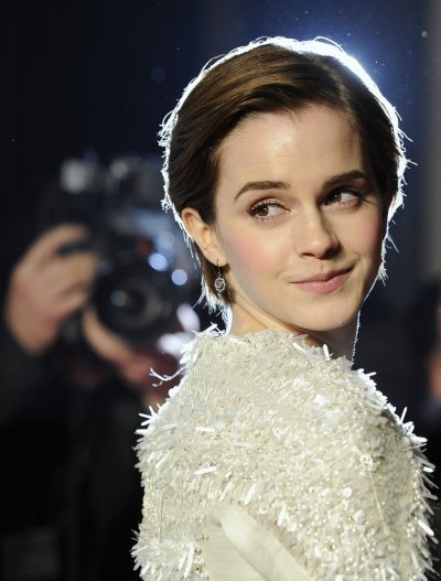 Emma Watson arrives for the European premiere of quotMy Week With Marilynquot in London
