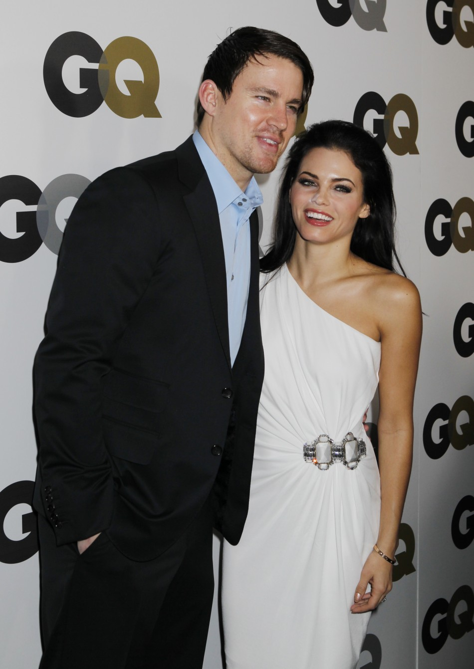 Actor Channing Tatum and Jenna Dewan arrive at the GQ Magazine 2010 quotMen of the Yearquot party in Hollywood