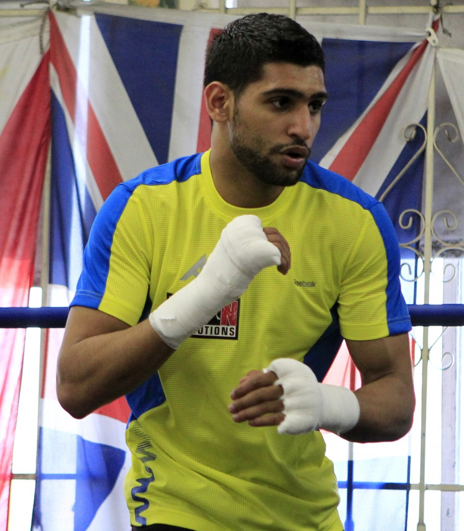 Amir Khan, one of the most prominent flag wavers among the nation's Muslim population, often speaks in interviews about his sense of national pride.