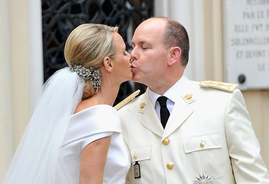 Prince Albert of Monaco and Princess Charlene