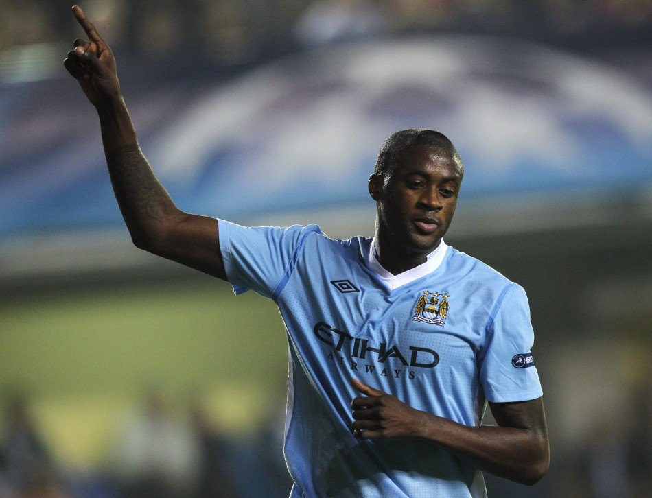 Manchester City's Yaya Toure has been praised as 'the buy of the century'