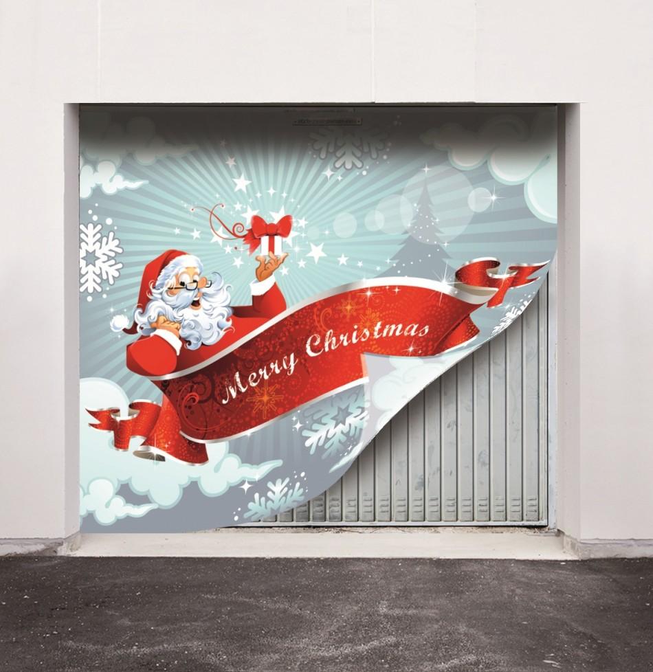 Santa on his sleigh