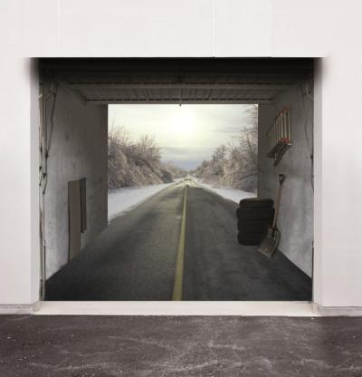 A long winter road...