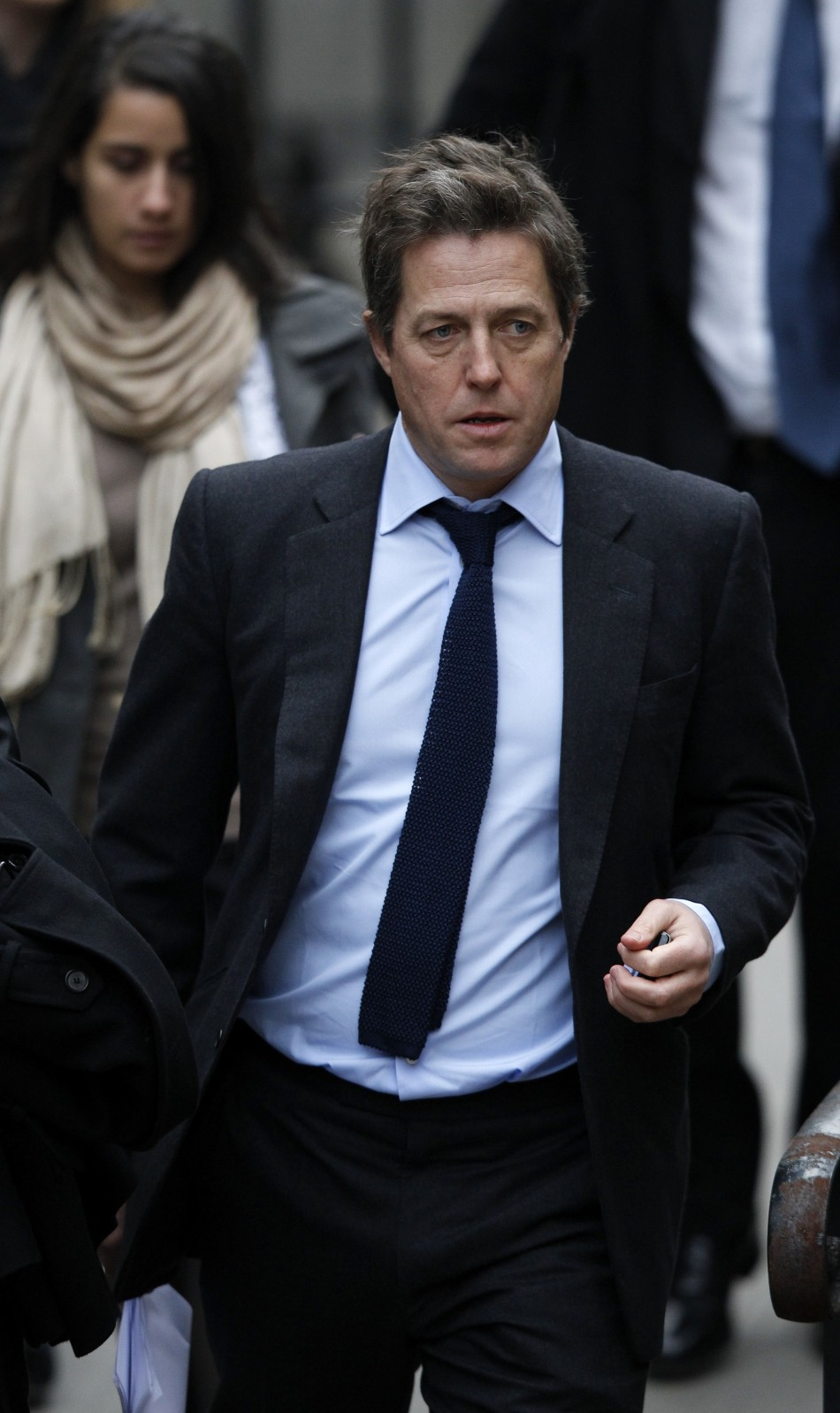 Hugh Grant at the High Court
