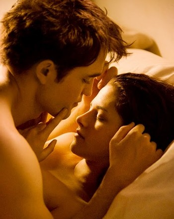 Edward and Bella's Honeymoon Scene