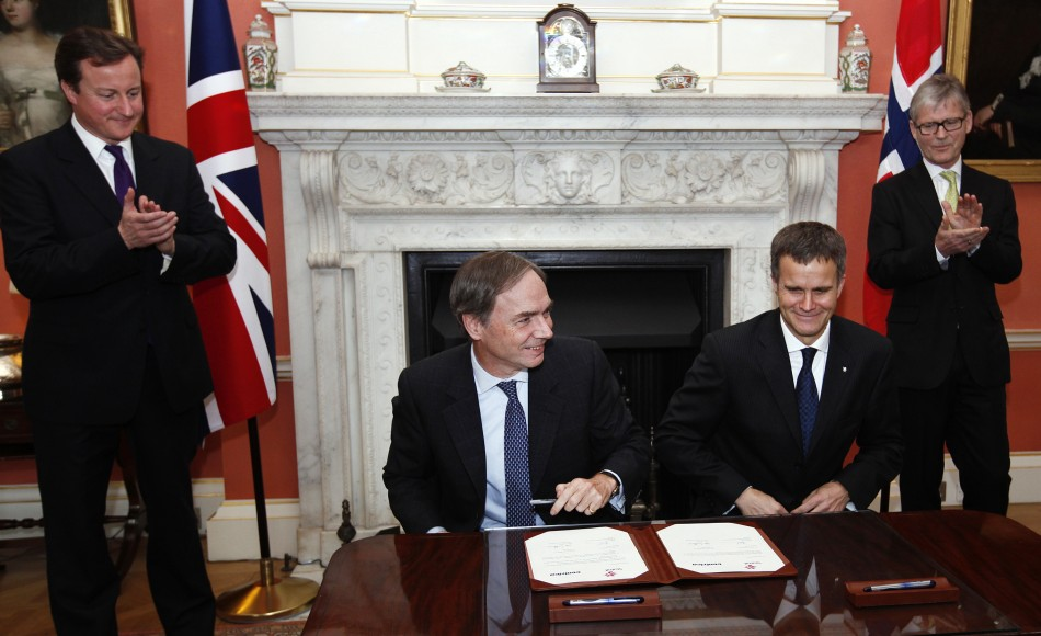 Centrica signs Gas deal with Statoil