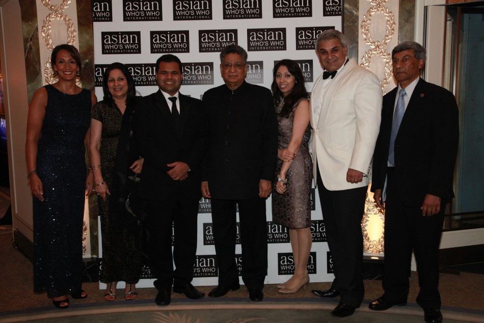 Asian winners at the Who's Who in the Dorchester,London
