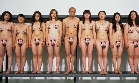 Ai Wei Wei Fans' Nudity