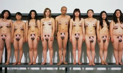 Ai Wei Wei Fans Nudity