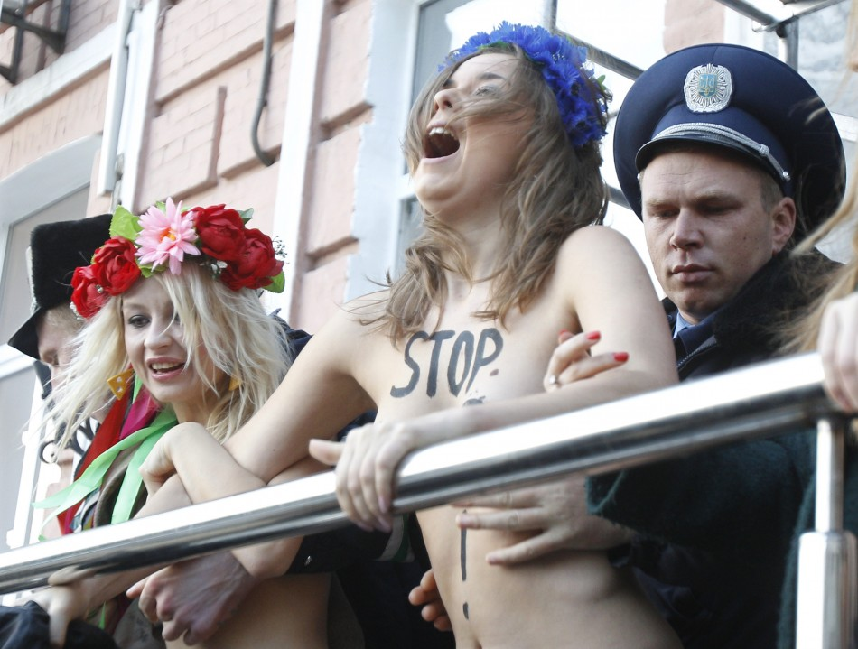 Nude Activism the new body politic
