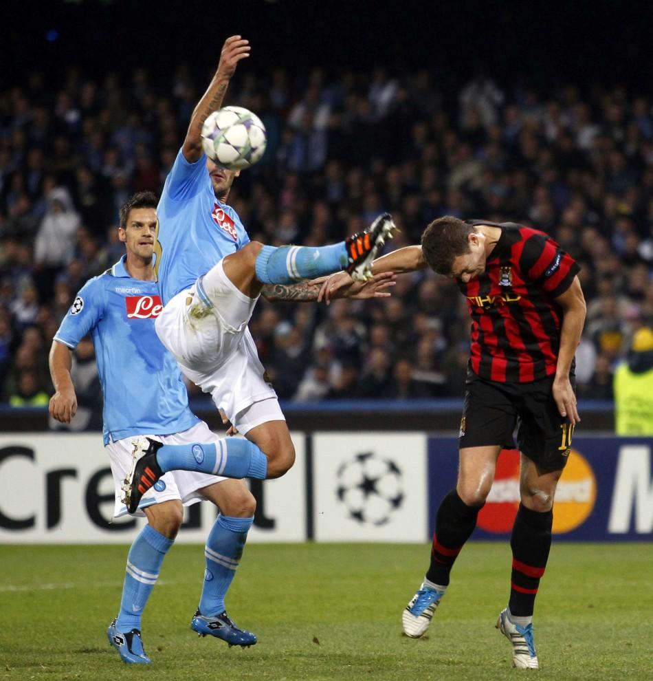 Napoli 2 - 1 Manchester City