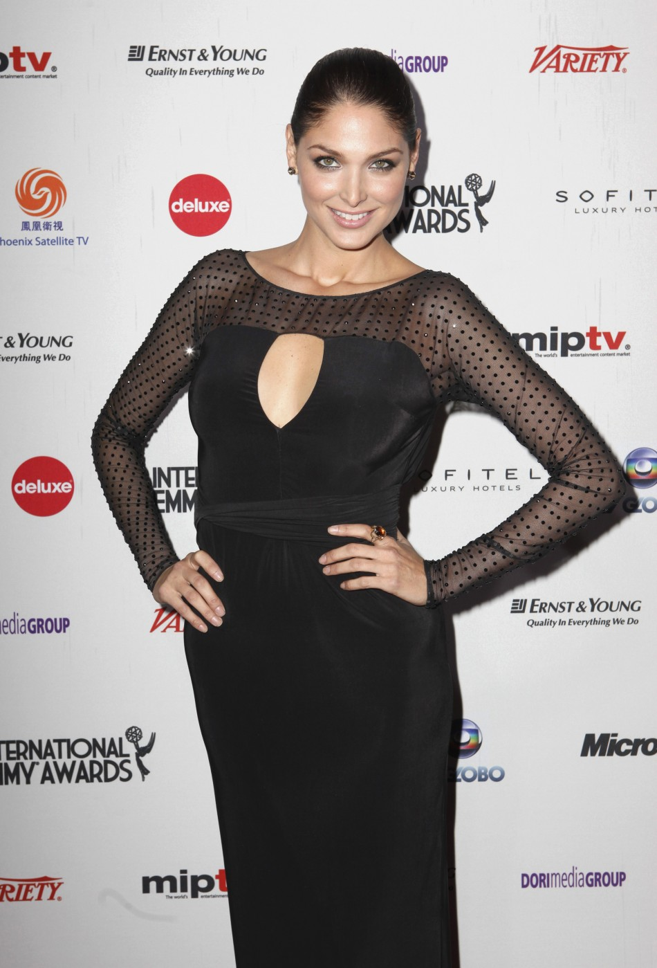 Actor Blanca Soto arrives at the International Emmy Awards in New York
