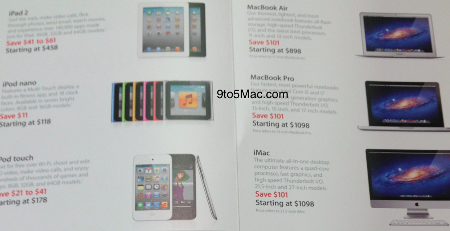 Apple's Black Friday discounts