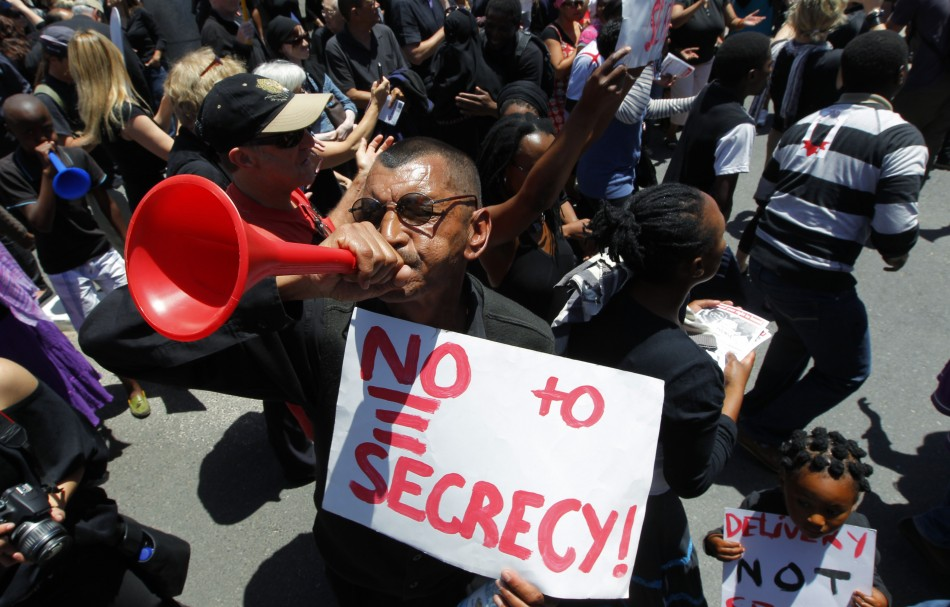 Secrecy Bill South Africa