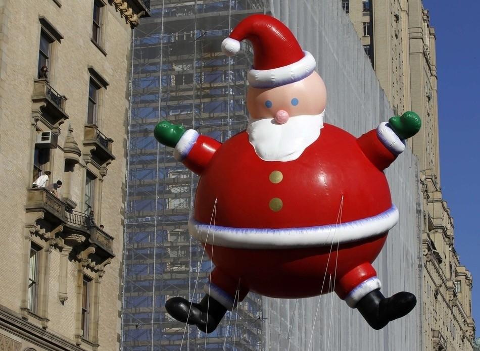 Old World Christmas Santa