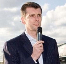 Russian tycoon Mikhail Prokhorov