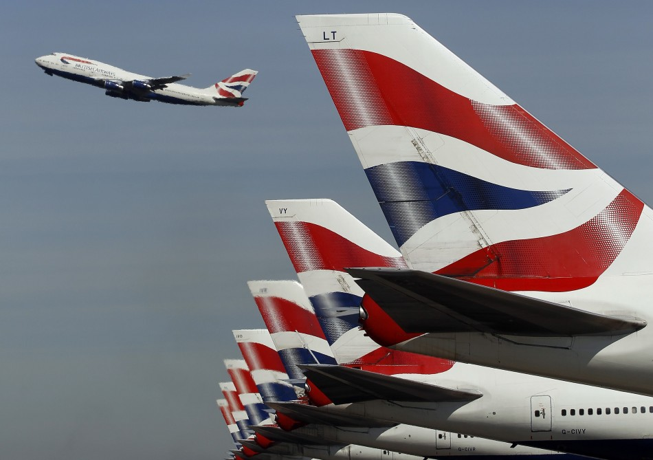 British Airways at Heathrow Airport