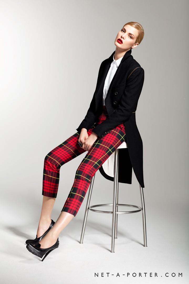 Alexander McQueen McQ outfit