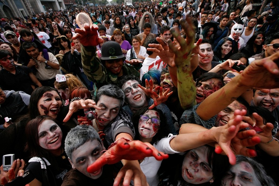 The 5k Zombie Run in Lincolshire will have competitors being chased by actors dressed as zombies