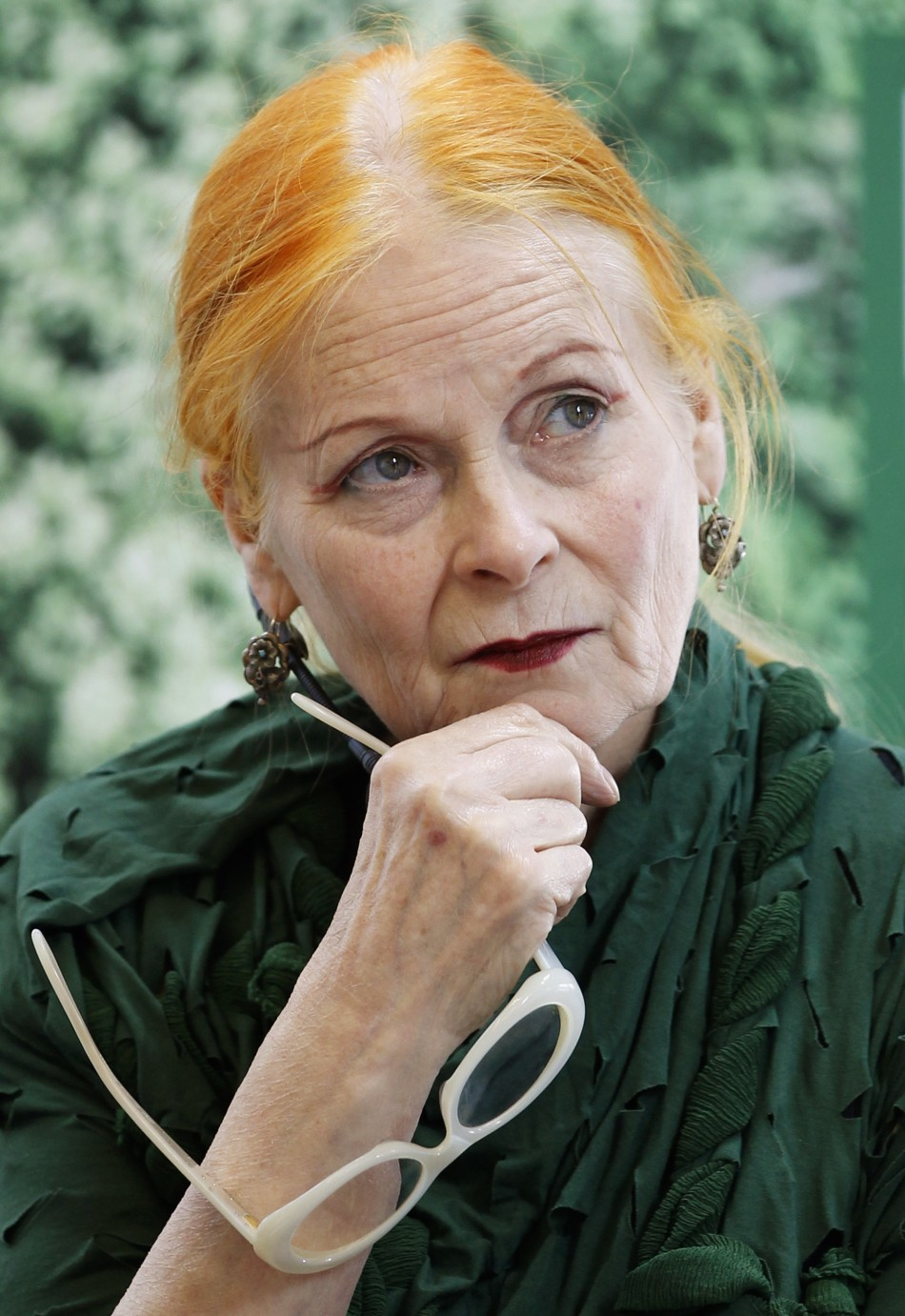 climate change vivienne westwood donates 1m to save planet. Black Bedroom Furniture Sets. Home Design Ideas