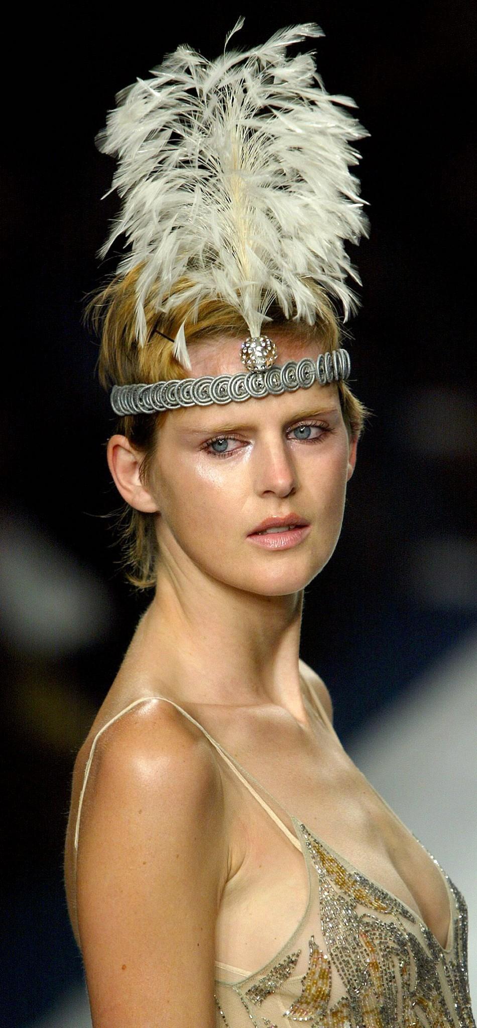 British Fashion Awards 2011: Model - Stella Tennant