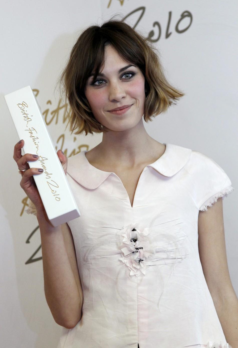 British Fashion Awards 2011: British Style Award - Alexa Chung