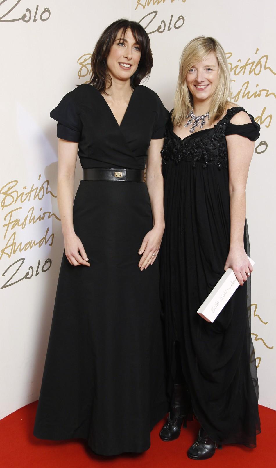 British Fashion Awards 2011: Designer of the year - Sarah Burton for Alexander McQueen
