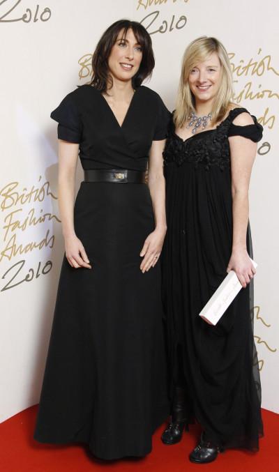 British Fashion Awards 2011 Designer of the year - Sarah Burton for Alexander McQueen