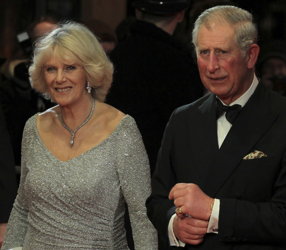 Britains Prince Charles and his wife Camilla, Duchess of Cornwal