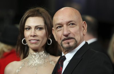 Actor Ben Kingsley arrives at the Royal Premiere of Hugo at the Odeon Leicester Square in London