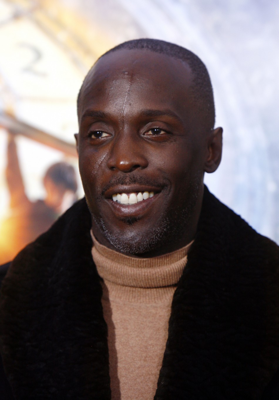 Actor Michael Kenneth Williams attends the premiere of quotHugoquot in New York