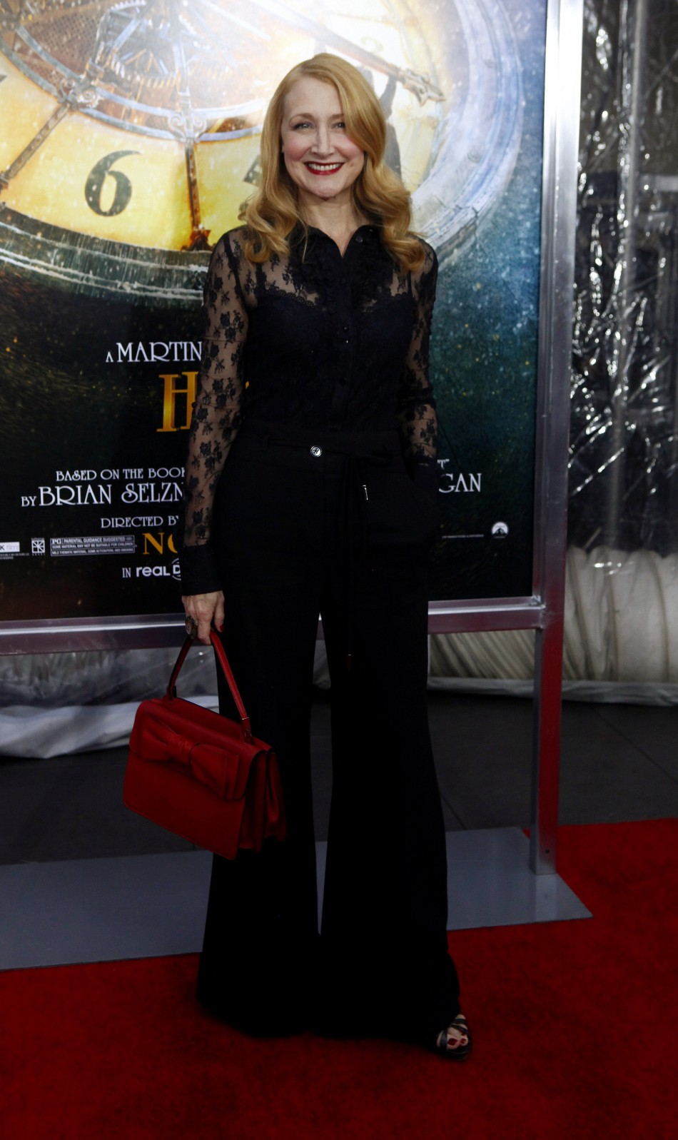 Actress Patricia Clarkson attends the premiere of quotHugoquot in New York