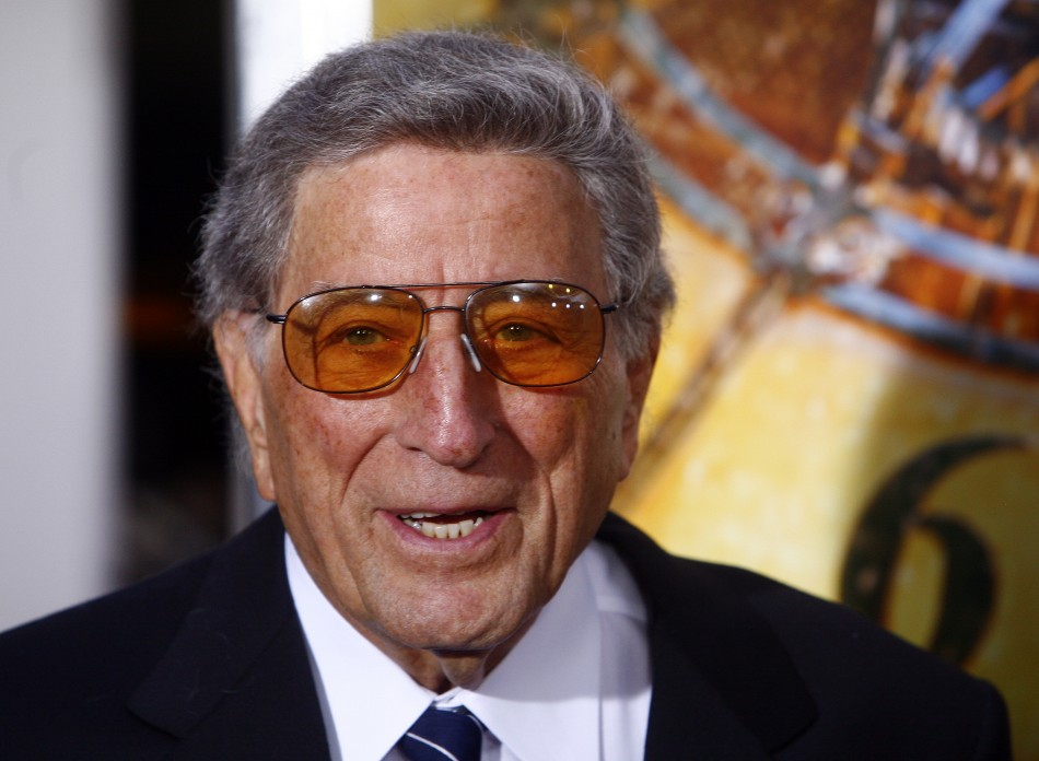 Singer Tony Bennett attends the premiere.