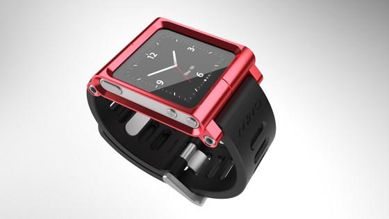 LunaTik Three Quarter Red strap for iPod nano - $69.95