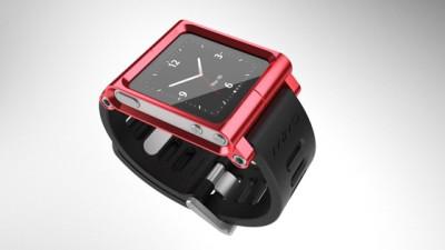 LunaTik Three Quarter Red strap for iPod nano - 69.95