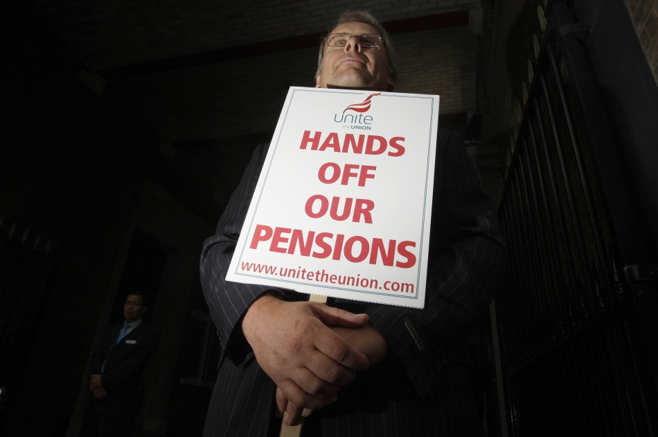 Pension strike